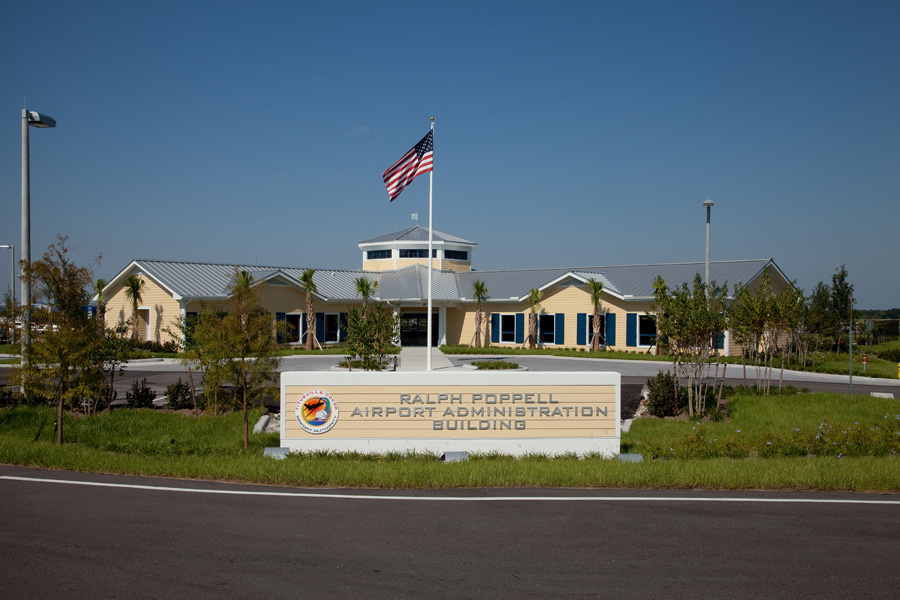 Ralph Poppell Airport Administration Building
